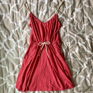 Red Striped Sundress